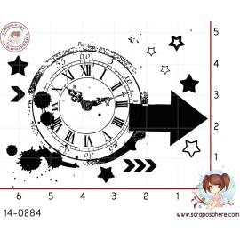 tampon-grunge-horloge-fleche-par-lily-fairy