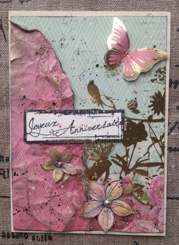 carte 2 rose