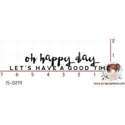 tampon-oh-happy-day-par-binka